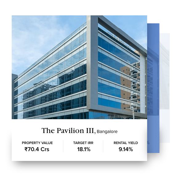 the pavilion iii home page banner